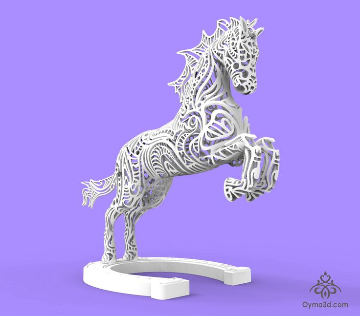 small horse statue 3d - photo #15