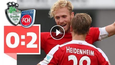 SpVgg Greuther-Fürth - 1. FC Heidenheim – 0:2 - Heidenheim siegt dank Super-Konter!: Heidenheim siegt dank Super-Konter! SpVgg…
