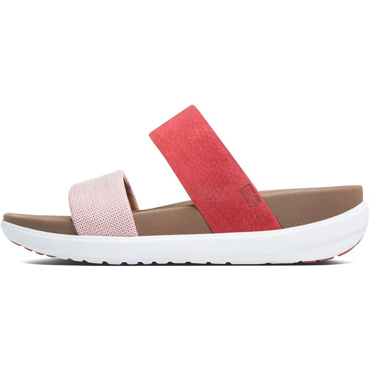 LOOSH SLIDE RED WEAVE | FitFlop Australia