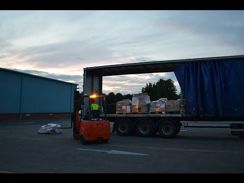 How to move a warehouse in 48 hours - YouTube