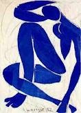 the blue woman by Henri Matisse