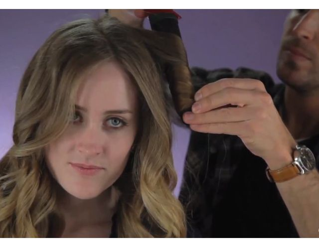WATCH: How to Curl Your Hair With a CurlingWand   Beauty High