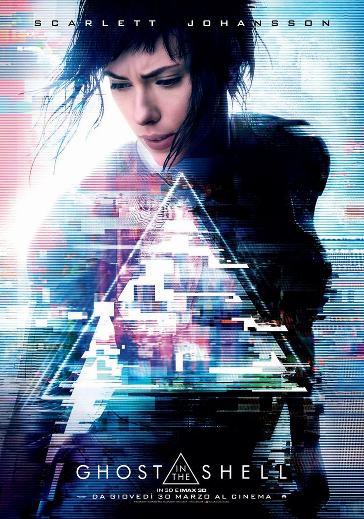 Ghost in the Shell | Poster Italiano