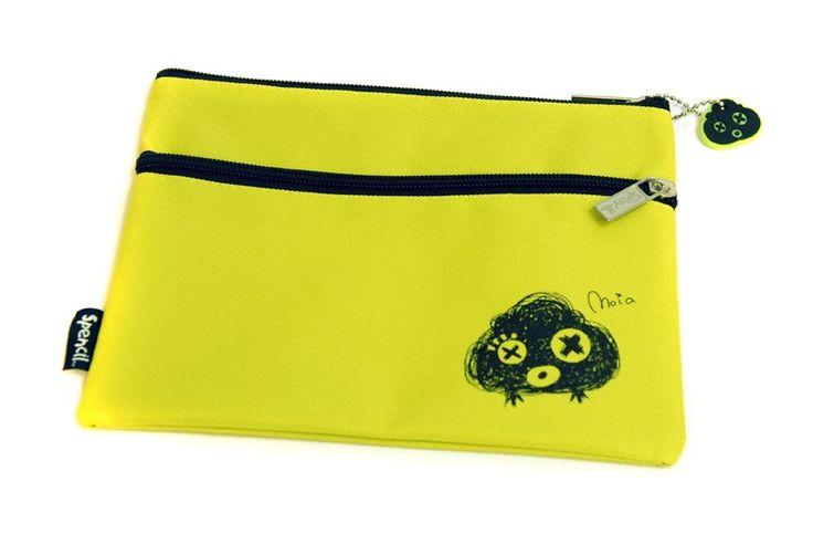 Scruffs 2 Zip Pencil Case - Moia