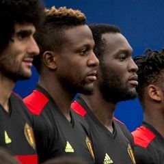 Belgian Red Devils presented to the Press ahead of 2016 European Championship