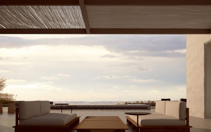 3d rendering images of a Villa in Antiparos, Greece. Made for ESESTUDIO.