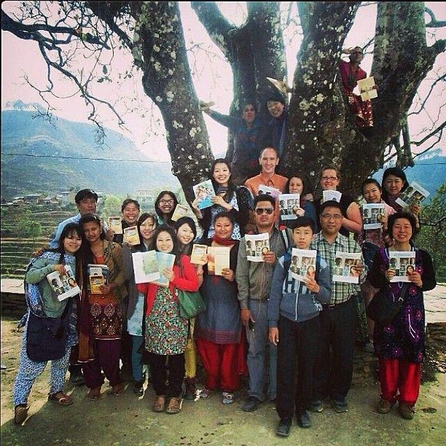 Nepal - All sharing The Good News of God's Kingdom with the community - JW.org --  -- Photo shared by @u_ko888