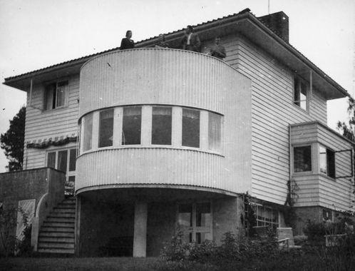 Arkitekt Rolf Prag; Kongsveien 25 i Brumunddal, 1939