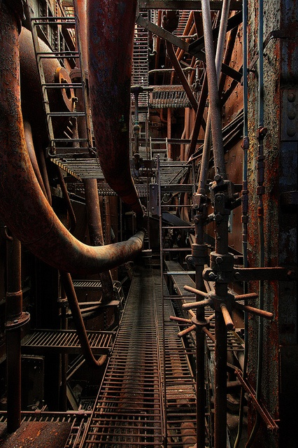 Rust in peace - an abandoned power station in Belgium,  Mobileohm, machine, old, factory