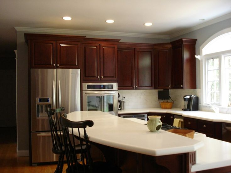 Kitchen Paint Colors With Cherry Cabinets   Kitchen Design Ideas For Small  Kitchens Check More At