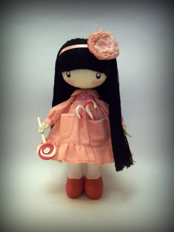 Doll Baby with candy....... by DollsLittleAngels on Etsy, $150.00