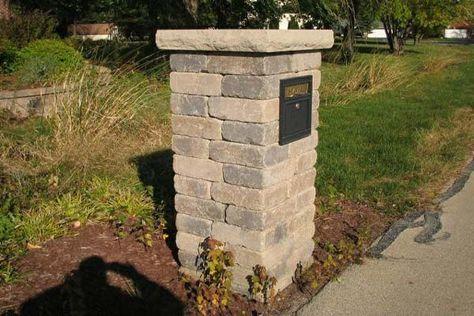 mailbox designs - Brick Mailbox Designs Idea – decorbathroomideas.com