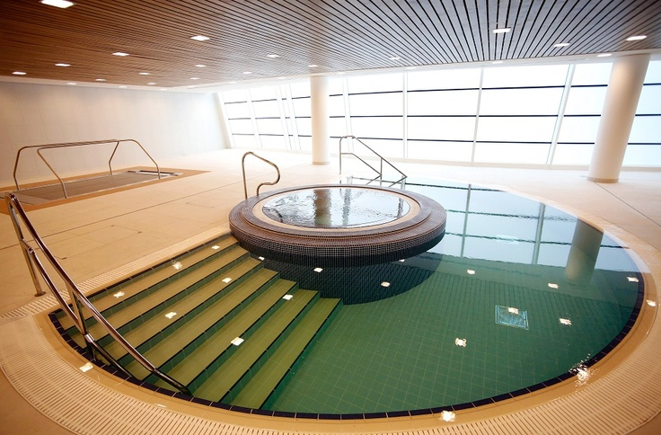St George's Park hydrotherapy pool