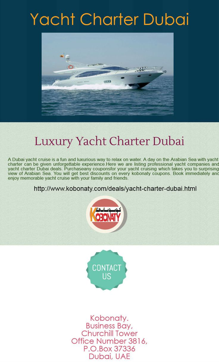 Yacht charter dubai http www kobonaty com deals
