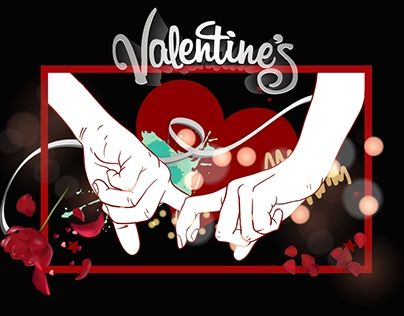 """Check out new work on my @Behance portfolio: """"My Valentine's"""" http://be.net/gallery/48697695/My-Valentines"""