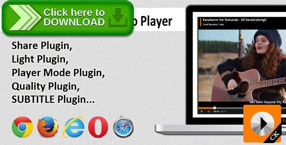 [ThemeForest]Free nulled download CK Player - HTML5 Video Player from http://zippyfile.download/f.php?id=40446 Tags: ecommerce, html5 video player, mp4 player, online player, online video html5, player, video