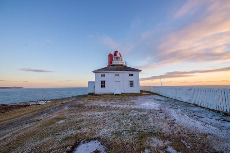 Beautiful light keepers house at Parks Canada Cape Spear National Historic Site