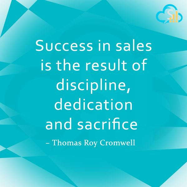 """""""To Get Success, one should be Disciplined & Dedicated in the assigned task""""  - SalesBabu CRM"""