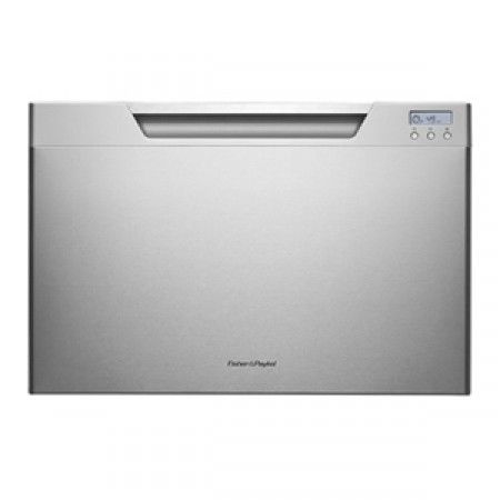 Fisher & Paykel - 7 Place Settings Single DishDrawer, Stainless Steel