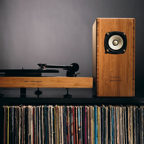 Ball and Buck Custom Wood-Finished Sound System