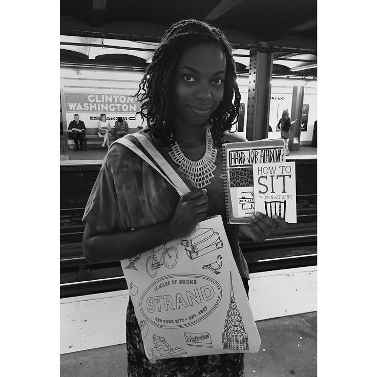 """#tbt to underground time with @thesheertruth of SNL  Sasheer: """"How To Sit is a precursor to meditation. It's not exactly saying how to meditate but how to center yourself and align your body with your breathing. It would be nice to take more ownership of the time and the energy that I'm spending. Being a comedian you have to be aware what's happening in your surroundings. You need to pay attention. And I think it's important to go go go but also as important to be still - that adds to my…"""