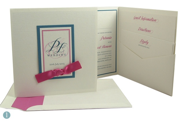 Xoxo wedding stationary