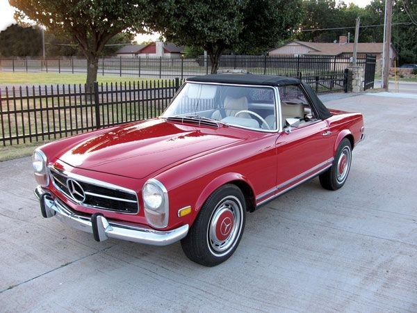This car was supplied new to the wife of well-known Tulsa-based actor and producer Milton Berry. She kept this quality, matching-numbers Mercedes-Benz 280SL until it was traded in to the original Tulsa, OK, Mercedes-Benz dealer in 1999. It stayed in his personal collection until 2010, when it was ultimately purchased by the present owner after years of asking. The odometer reads 75,420 miles, which is almost certainly actual, although it is stated as exempt on the clear Oklahoma title.  Read…