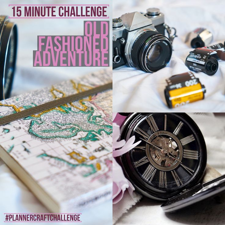 #plannercraftchallenge for a spark of pretty vintage chic