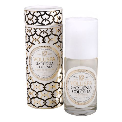 Voluspa Gardenia Colonia Home & Body Mist from Aroma Home Ltd. Buy from the online gift shop at English Heritage.