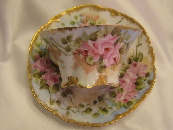 Rosenthal Hand Painted Tea Cup and Saucer by janell
