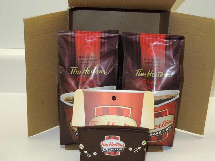 Tim Hortons -Coffee Care Package