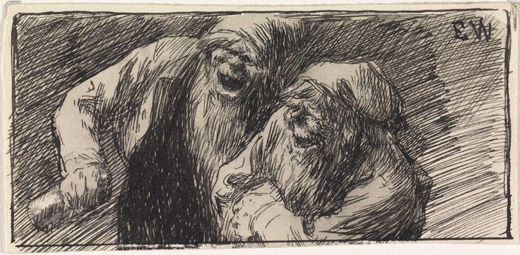 Erik Werenskiold, To nisser. (1896)