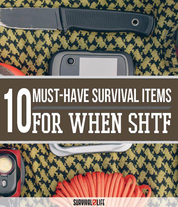 Vital Items During Natural Disaster