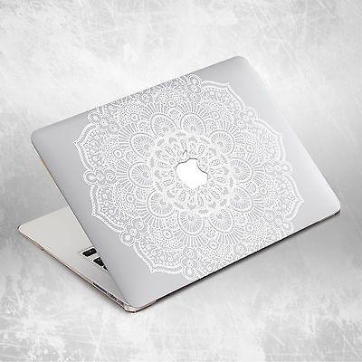 Boho Flower Mandala Hard Cover Case For Macbook Pro Retina Air 11 12 13 15