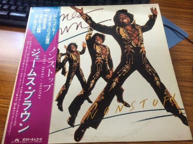 スノー・レコード・ブログ: ポカポカ春陽気で心も体も踊りだす~ダンス・ジャンプなジャケットのレコード、「ジェームス・ブラウン」「...
