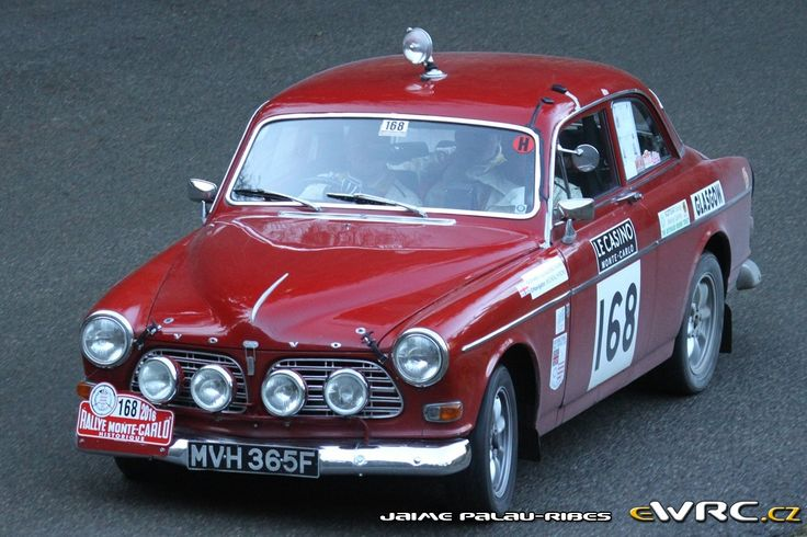 Rallye Monte-Carlo Historique 2016 Volvo 123 GT - Jonathan Young - Michael Hyrons