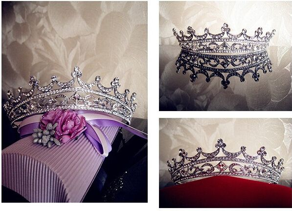 Rhinestone Crystal crowns bride hair accessories wedding tiaras for sale pageant crowns head jewelry hair ornaments-in Hair Jewelry from Jewelry on Aliexpress.com | Alibaba Group