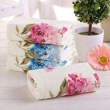 33 * 73 см цветок ситец махровые полотенца для рук, Дизайнер высокое качество рисунком лица ванной полотенца для рук, Петитес салфетка основной(China (Mainland))