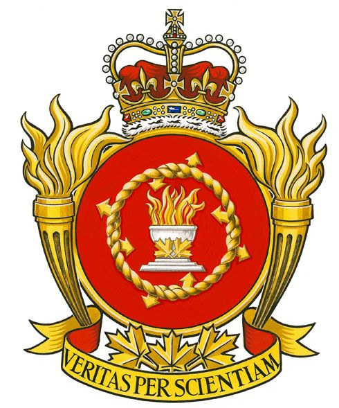 Badge of the Canadian Forces School of Intelligence and Security