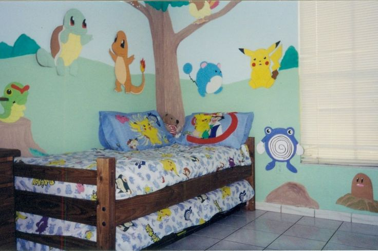 17 best images about pokemon room on pinterest new for Baby room decoration games