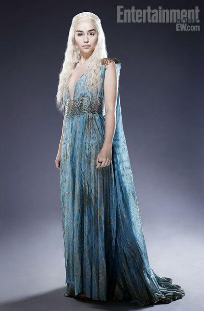 Daenerys Stormborn. House Targaryen. Mother of dragons. Game of Thrones portraits for EW. #Winteriscoming