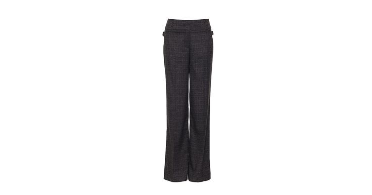 Review Australia | Spencer Wide Leg Pant Charcoal