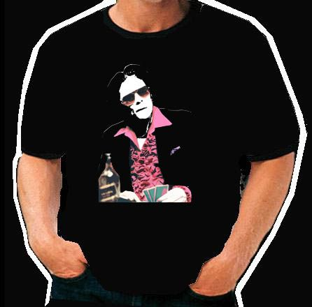 Benico Del Toro poker Snatch movie cool  T Shirt