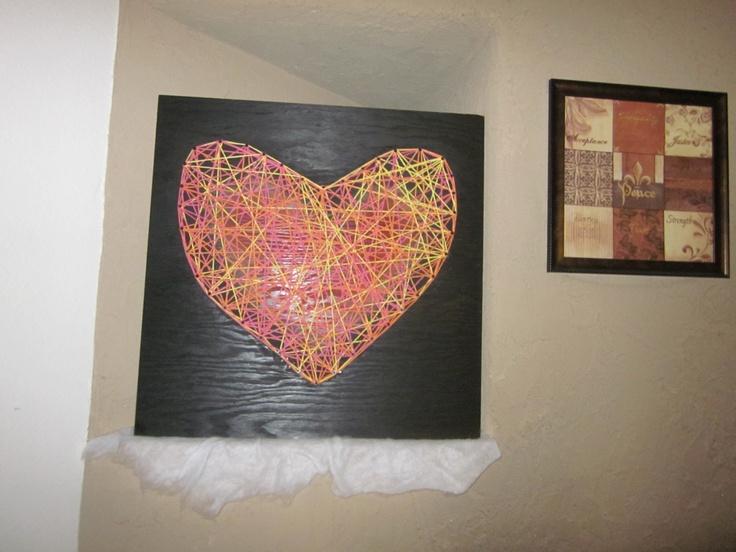 string art :)Crafts Ideas, Crafty Crafts