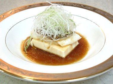 清蒸鯛魚豆腐