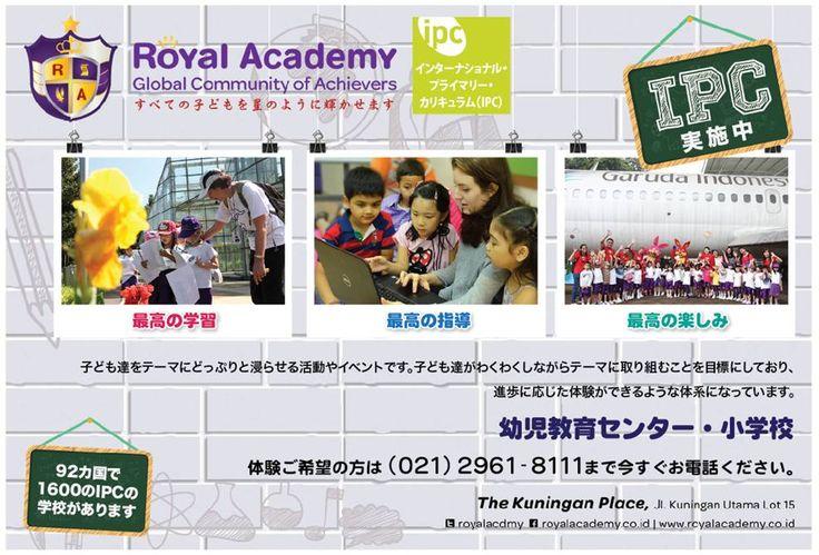 #Royal #Academy in #SARASA  #magazine - September 2014 edition