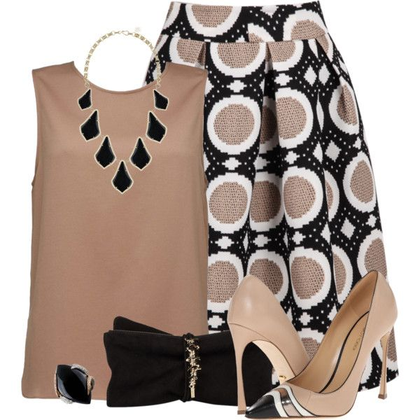 Eva by rotwein on Polyvore featuring Sergio Rossi, Dsquared2, Kendra Scott and Luca Carati
