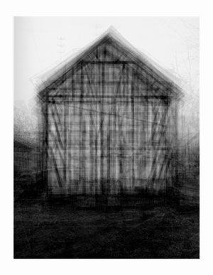 """""""Every...Bernd and Hilla Becher Gable Sided Houses"""" Idris Khan (Lambda digital C Print, 2004 (The Saatchi Gallery) #art #photography #architecture"""