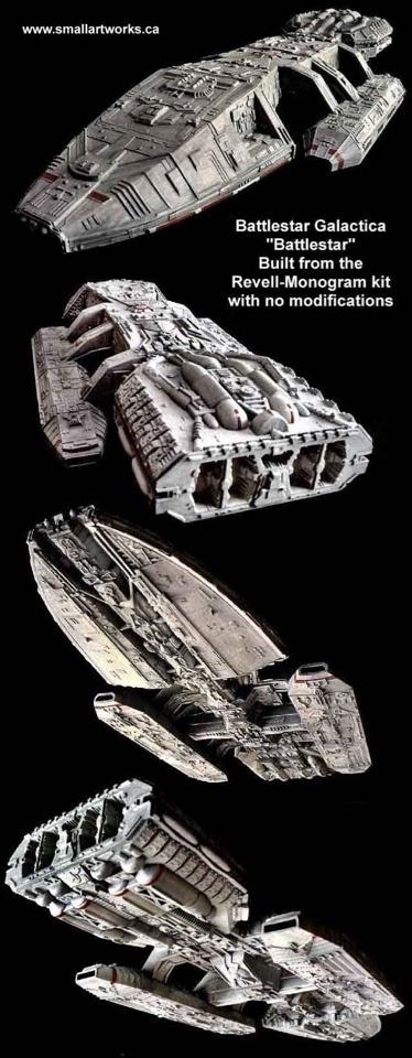 Encuesta friki de la semana: ¿Qué nave espacial es la más ...  |Battlestar Galactica Spacecraft