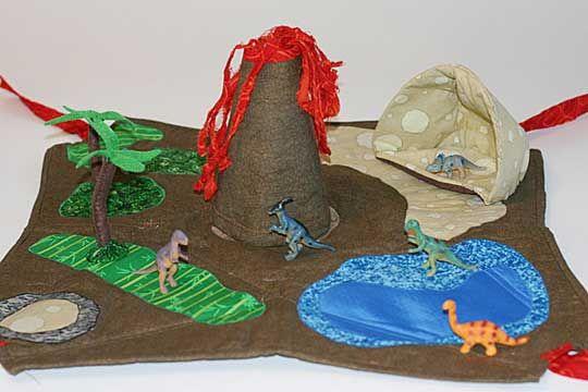 Dinosaur play mat, so cute! my little guy needs this!